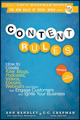 Content Rules By Handley, Ann/ Chapman, C. C.
